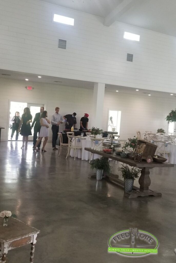 guests entering