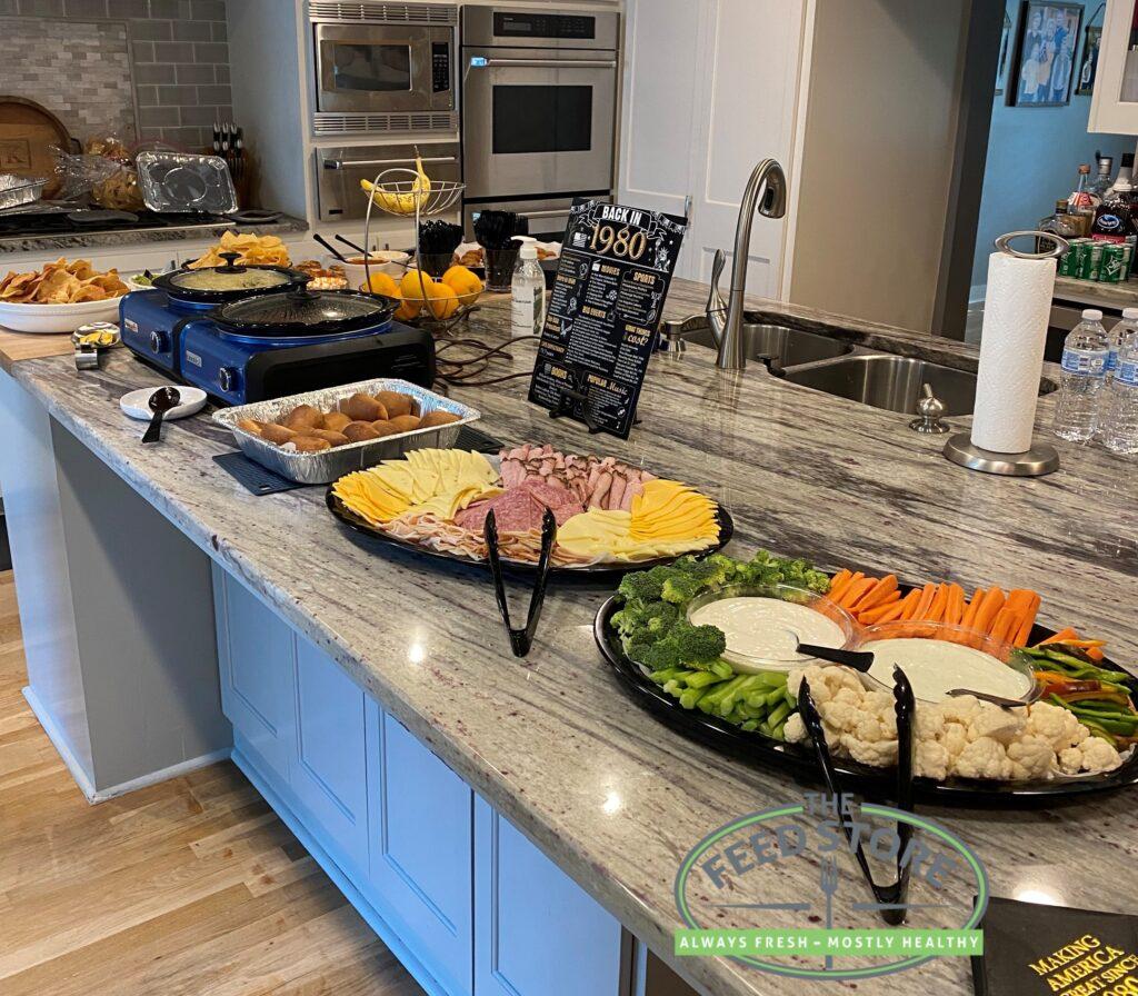 Veggie & Meat/Cheese Trays