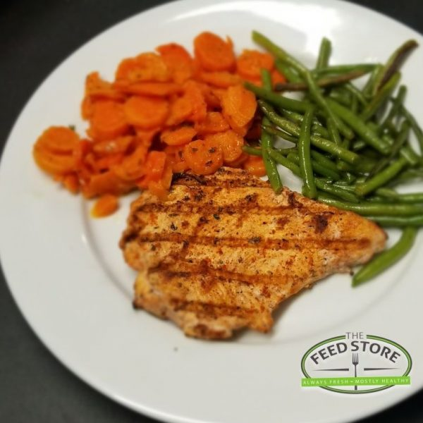 grilled chicken breast carrots gb